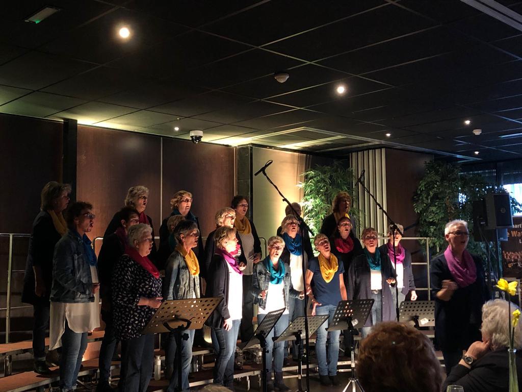 Optreden t.b.v. benefietoptreden KWF te Lelystad 03-03-2019